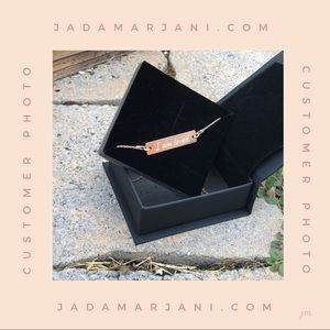 CUSTOM NECKLACE 18k rose gold 24k gold and silver
